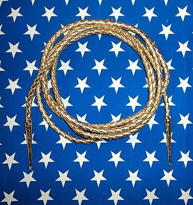 Wonder Woman Costume Golden Lasso of Truth Choose Size Super Hero Shiny