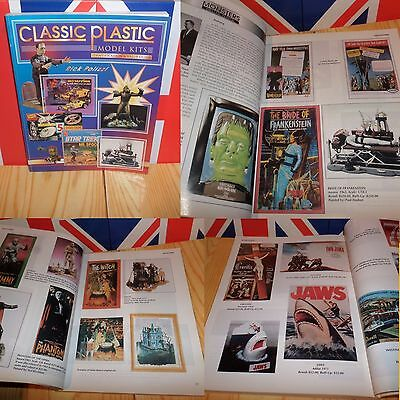 1996 CLASSIC PLASTIC model kits book  AURORA Monsters PREHISTORIC SCENES L@@K