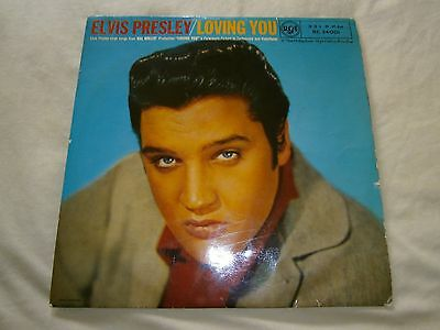 "Elvis Presley/loving You 10""lp-First Pressing"