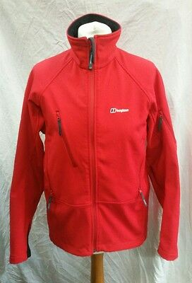 Womens Berghaus Extrem Windstopper Soft Shell Jacket Size 14