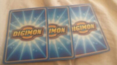 digimon card lot 50 cards mixed