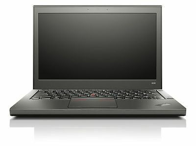 "Lenovo Thinkpad X240 Laptop 12.5"" Core i5-4200U 1.6Ghz 8GB 256GB SSD Win 10 LT23"