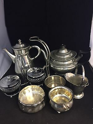 Job Lot Of Silver Plated Items