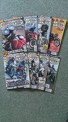 Classic Bike Magazines - eight consecutive issues Oct '97 to May '98
