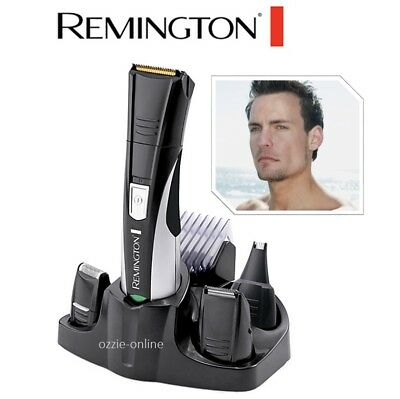 Mens Groomer Body Shaver Rechargeable Cordless Hair Clipper Trimmer Face Beard