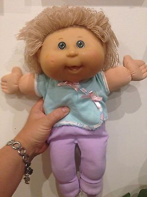 Very Happy Cute Baby Cabbage Patch Kid Doll