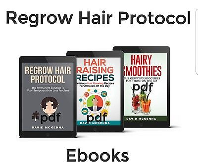 3in1 Hair loss guide Regrow hair protocol-Hairy Smoothies & Hair Raising Recipes