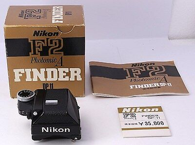TOP MINT IN BOX Nikon DP-11 Finder For Nikon F2 photomic A Clear from Japan  #41