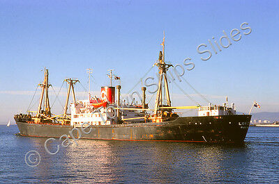 Original Colour Slide Of The Cargo Ship Loreto Ex Mokoto