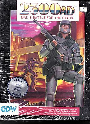 Gdw 2300Ad Man's Battle For The Stars Role-Playing Game Original Shrink Wrap
