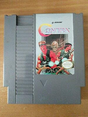Nintendo Entertainment System Contra (1988) NES Cartridge Only