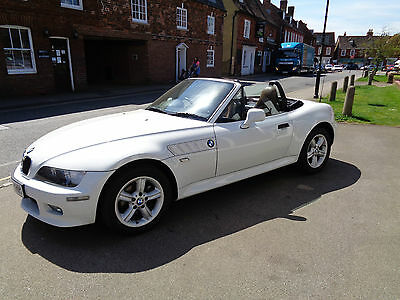 Bmw Z3 Roadster 2.2 -37,000 Miles Fsh Unique Oppurtunity Factory Hardtop -Lovely
