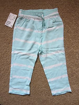H&M Girls Summer Trousers – Age 12-18 Months *New with Tags*