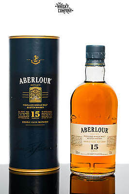 Aberlour Aged 15 Years Double Cask Matured Highland Single Malt Scotch Whisky