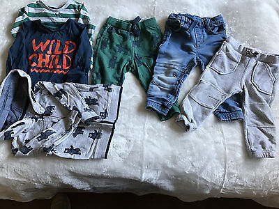 Baby boys f&f bundle 9-12 months