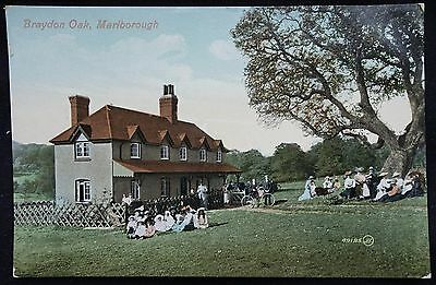 Old Postcard - Braydon Oak, Marlborough, Wiltshire