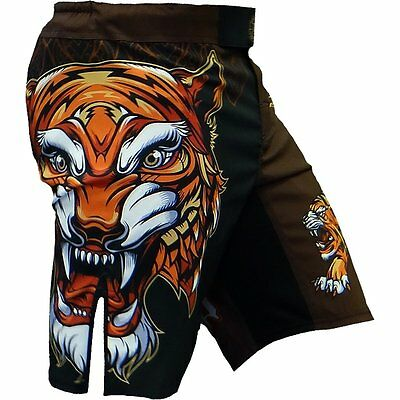 Shorts Hardcore Training Tiger MMA BJJ Fitness Boxing Training Grappling