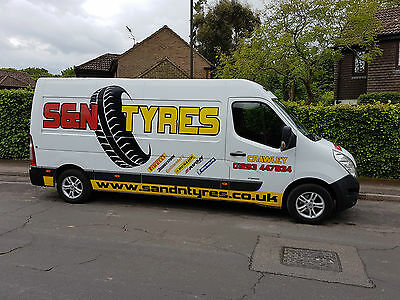 2011 Renault Master XLWB Tyre fitting van fully equipped ready for work