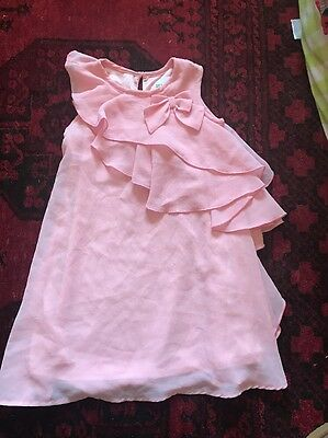 Origami Girls Pink Party Dress Size 2 Brand New Without Tags