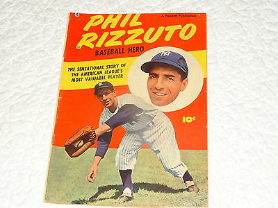 Mvp Phil Rizzuto, Yankees Baseball Hero