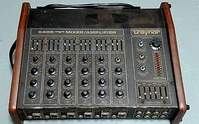 Traynor 6400 Series II Mixer / Amplifier