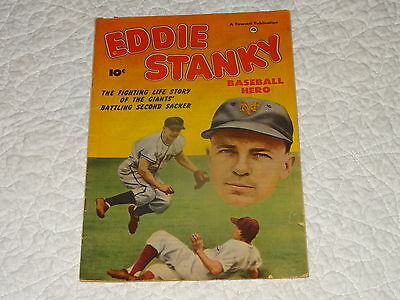 N.y. Giants Baseball Hero - Eddie Stanky