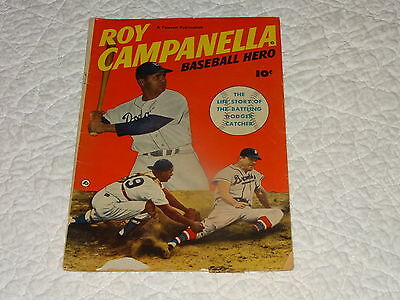 Roy Campanella - Baseball Hero Of Brooklyn Dodgers