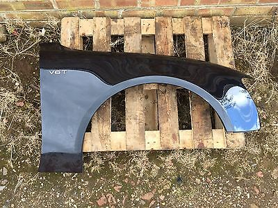 Audi A5 S5 2009-2016 Front Wing Right O/s Driver Side In Black Oem