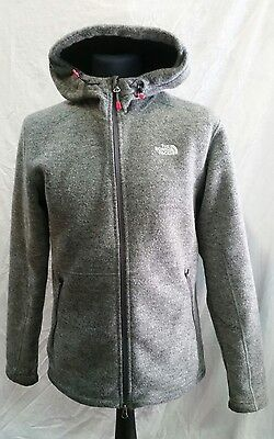 Mens The North Face Wool Hooded Fleece Lined Jacket Size Medium