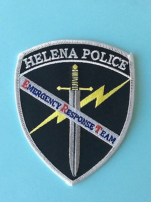 Helena Police Department Emergency Response Team Patch.