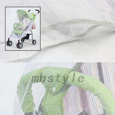 1PCS Safe Outdoor Mosquito Net Stroller Infants Mesh White Bee Insect Bug Cover