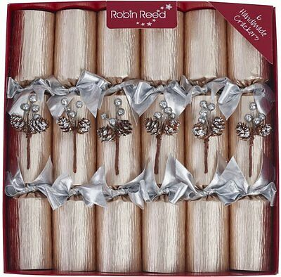 Champagne Frost Christmas Crackers