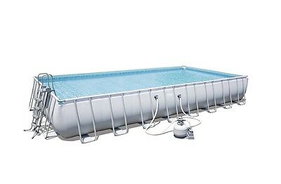 Piscina Desmontable Tubular Bestway Power Steel 956x488x132 cm sf