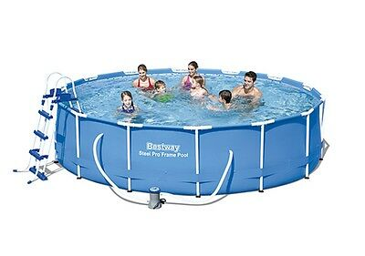 Piscina Desmontable Tubular Bestway Steel Pro 427x100 cm