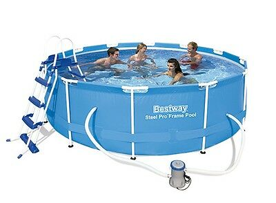 Piscina Desmontable Tubular Bestway Steel Pro 366x100 cm
