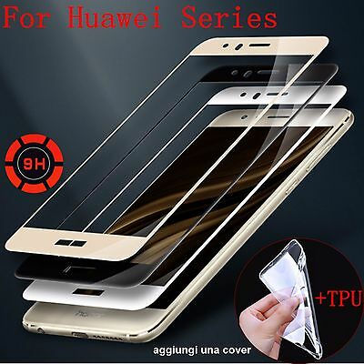 TEMPERED GLASS pellicola display in vetro temperato per huawei P10 lite & plus