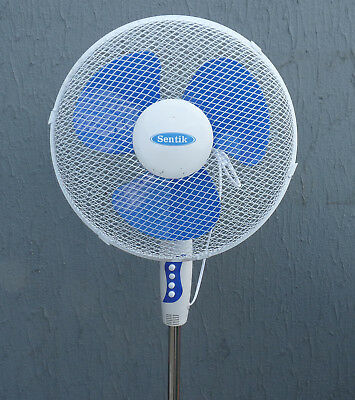 """Brand New 16"""" Oscillating Pedestal Stand Fan 3 Speed Office or Home Use"""