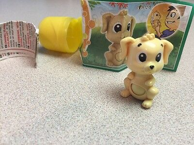 Kinder Egg Surprise - Nations - Small Dog with Swiveling Head