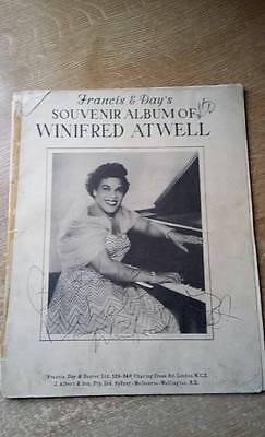 Francis and Days Souvenir Album of Winifred Atwell – Vintage Sheet Music