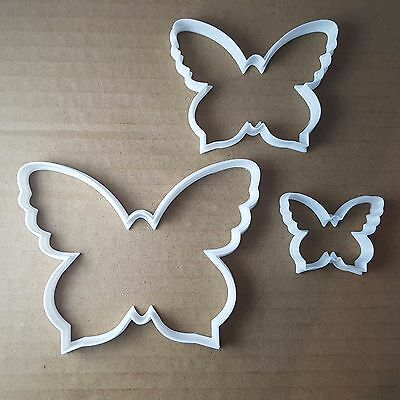 Butterfly Shape Cookie Cutter Insect Animal Fondant Biscuit Cutter Mold Print N3