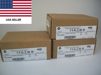 *Ships Today* 2017 Allen Bradley 1734-AENT Ethernet Network Adapter New