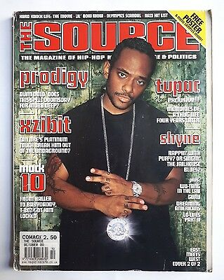 The Source Hip Hop Magazine, Issue #133 OCT 2000 PRODIGY Mobb Deep Cover