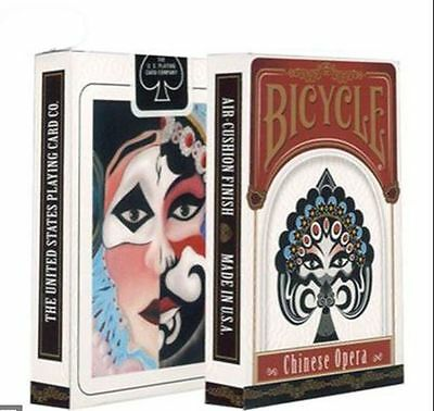 Bicycle*Chinese Opera* Playing Cards New Sealed .
