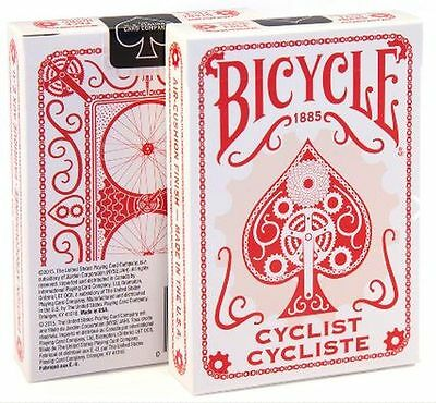 Bicycle **Cyclist** Playing Cards Red Deck  New Sealed.