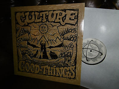 "Culture, Good Things, REGGAE, UK England Greensleeves RAS 3048 LP, 12"" 1989"
