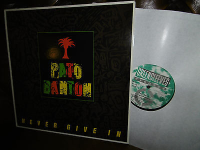 Pato Banton, Never Give In, REGGAE, UK England Greensleeve GRERL 108 LP, 1987