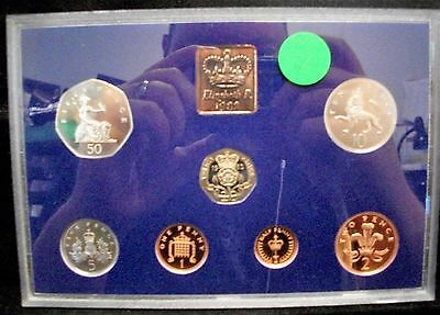 Great Britain United Kingdom 7-Coin Proof Set 1982