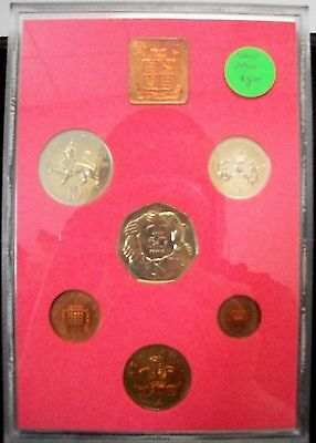 Coinage Of Great Britain & Northern Ireland, 1973 6 Coin Proof Set