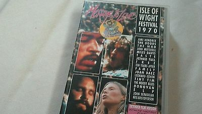 Videocassetta VHS Isle Of Wight Festival 1970 , Message to Love