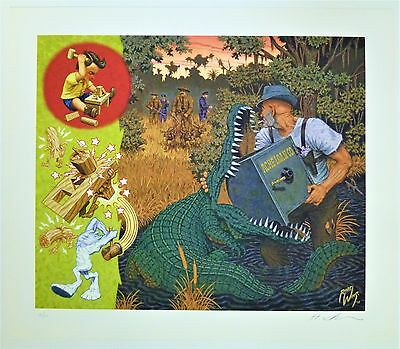 ROBERT WILLIAMS Signed and Numbered Giclee Print, New Condition, Limited Edition